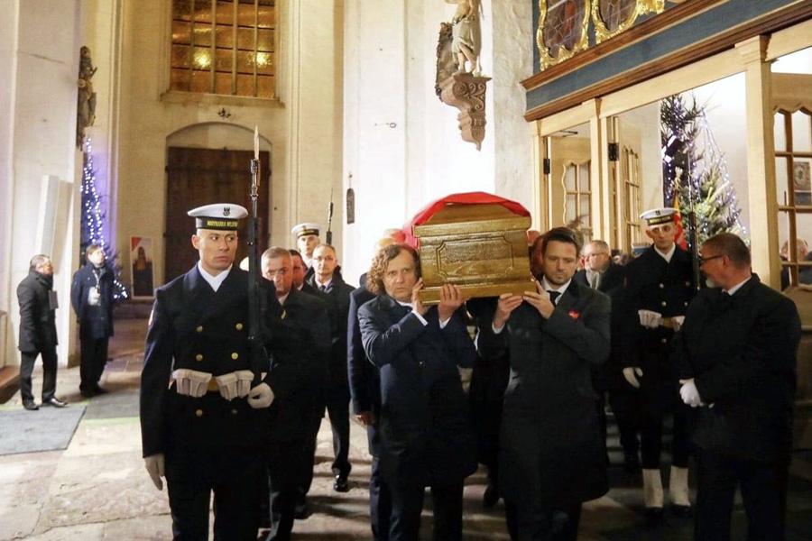 Pożegnanie Pawła Adamowicza w Gdańsku