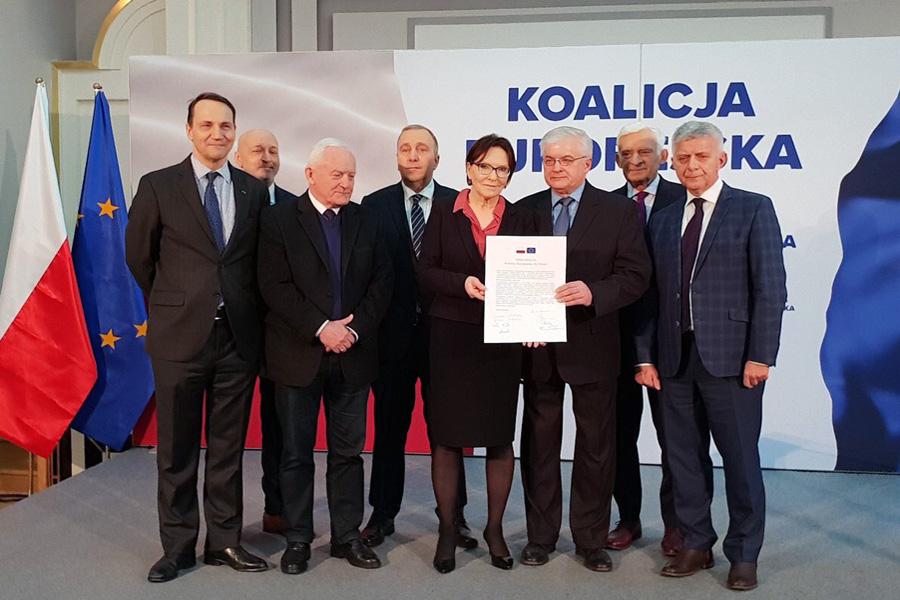 Koalicja Europejska dla Polski. Apel o wspólną listę